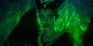 Angry Maleficent in The Evil Mistress