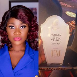 Mercy Johnson Wins ELOY Awards, 2018