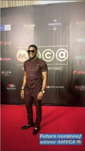 Tobi Bakre at the AMVCA