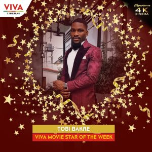 Tobi Bakre Movie Star of The Week