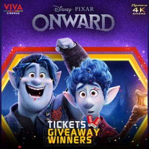 onward ticket winners